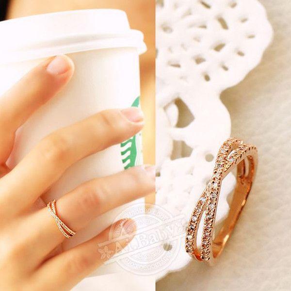 指輪 リング ピンキーリング スワロフスキー SWAROVSKI クロス エタニティ あすつく 大きいサイズ レディースアクセサリー|jewelrysanmi|04