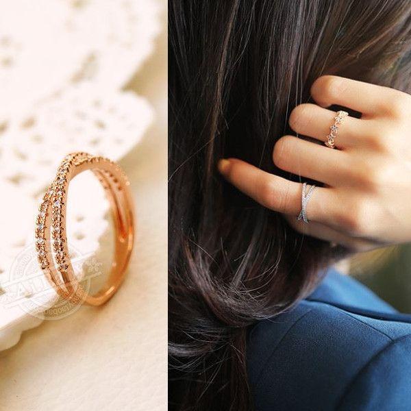 指輪 リング ピンキーリング スワロフスキー SWAROVSKI クロス エタニティ あすつく 大きいサイズ レディースアクセサリー|jewelrysanmi|05
