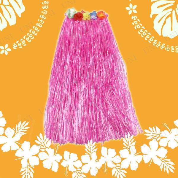 Patymo ハワイアンスカート ロング ピンク 仮装 衣装 コスプレ ハロウィン 大人 コスチューム 女性 スカート|jewelworld