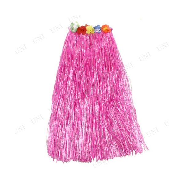 Patymo ハワイアンスカート ロング ピンク 仮装 衣装 コスプレ ハロウィン 大人 コスチューム 女性 スカート|jewelworld|02