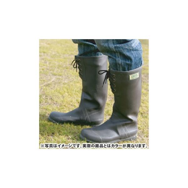 取寄品  LOGOS(ロゴス) ECOブーツ ライトブラウン 27cm アウトドア用品 キャンプ用品 レジャー用品 雨具 雨靴