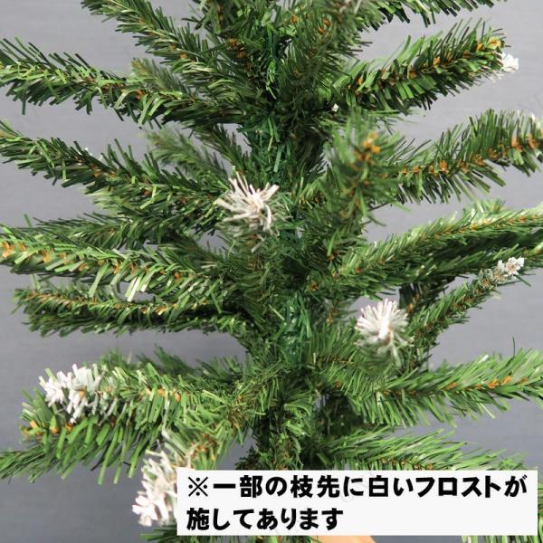 クリスマスツリー ヌードツリー グリーン×ホワイト120cm jewelworld 02