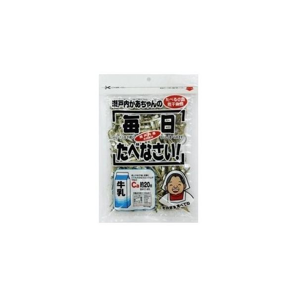 【お得なセット販売!】瀬戸内かあちゃんの食べる小魚 60g×10袋(オカベ)