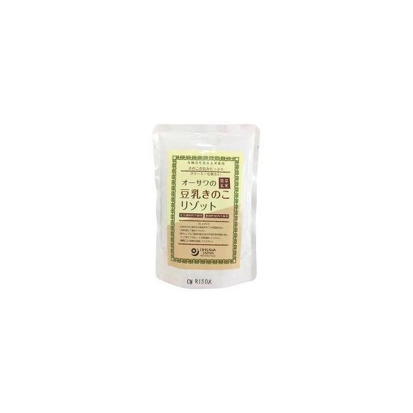 【お得なセット販売!】オーサワの発芽玄米豆乳きのこリゾット 180g×20袋(オーサワジャパン)