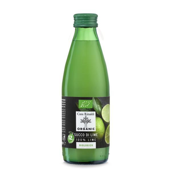 有機ライム果汁 ストレートジュース 250ml