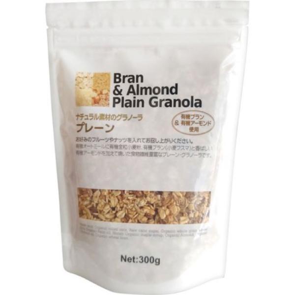 ナチュラル素材のグラノーラ プレーン 300g(ナチュラルキッチン)