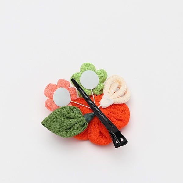 成人式 振袖 髪飾り ちりめん丸花 クリップ|jfloom|05