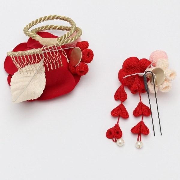 成人式 振袖 髪飾り 椿 レトロ 赤 KimonoWalker Scawaii Ray minaカタログ掲載商品 jfloom 04