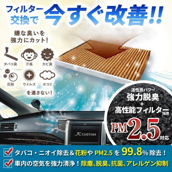 エアコンフィルター ホンダ車用 PM2.5対応 脱臭クリーンフィルタープレミアム JC-2979P|jfrow|03