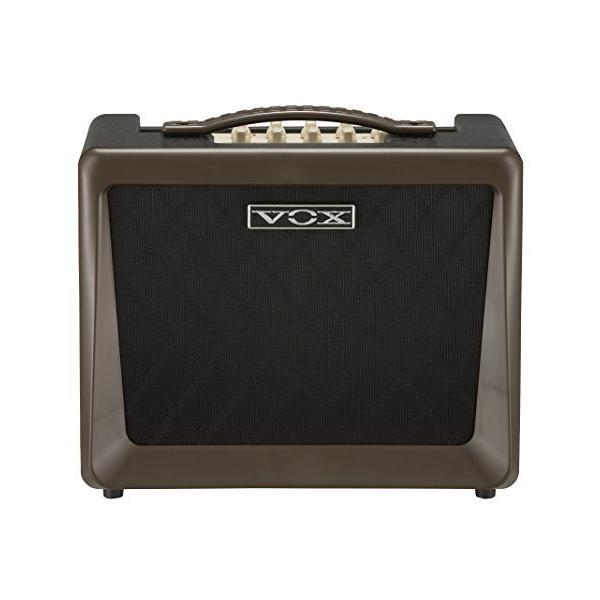 VOXNutube搭載アコースティックギターアンプVX50AGコンパクト軽量設計50Wの大出力自宅練習スタジオステー?