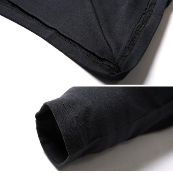 【タダ割 3枚購入で1枚無料】 ロンT Tシャツ メンズ トップス カットソー 防寒インナー 長袖 無地 あったかインナー ウォームビズ発熱 夏 夏服 送料無料|jiggys-shop|17