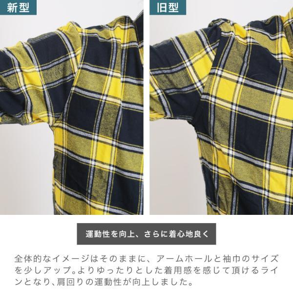 チェックシャツ メンズ ポイント10倍 長袖シャツ コットン ネルシャツ カジュアルシャツ オフィス 秋服 送料無料 jiggys-shop 03
