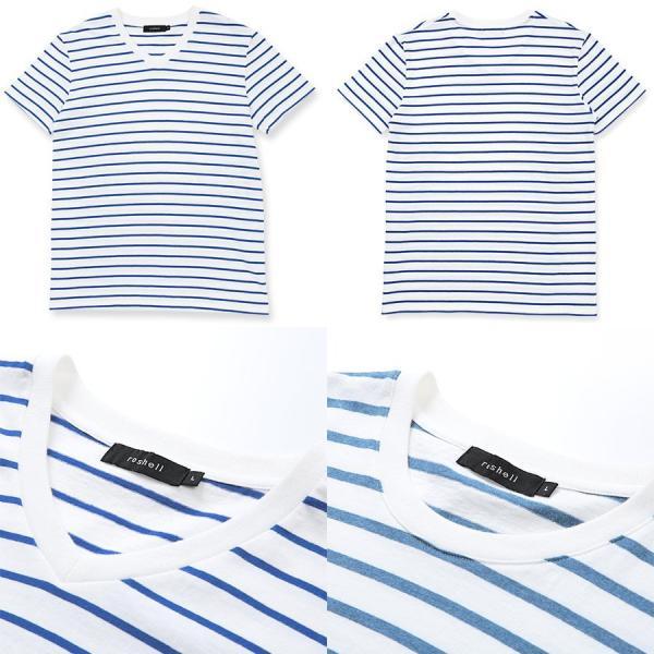 【2枚目半額】 Tシャツ メンズ トップス カットソー ボーダーTシャツ ボーダー柄 サーフ系 アメカジ 半袖 7分袖 秋 秋服|jiggys-shop|18