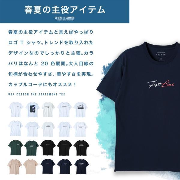 【2枚目半額】 Tシャツ メンズ トップス カットソー ロゴプリントTシャツ 半袖Tシャツ サーフ系 ビター系 夏 夏服 送料無料 先行予約0833|jiggys-shop|02