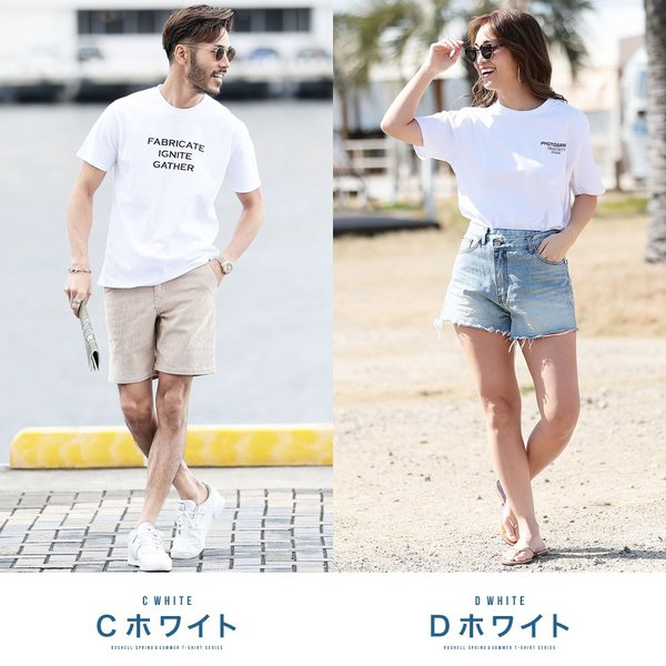 【2枚目半額】 Tシャツ メンズ トップス カットソー ロゴプリントTシャツ 半袖Tシャツ サーフ系 ビター系 夏 夏服 送料無料 先行予約0833|jiggys-shop|05