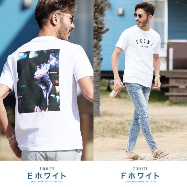 【2枚目半額】 Tシャツ メンズ トップス カットソー ロゴプリントTシャツ 半袖Tシャツ サーフ系 ビター系 夏 夏服 送料無料 先行予約0833|jiggys-shop|06