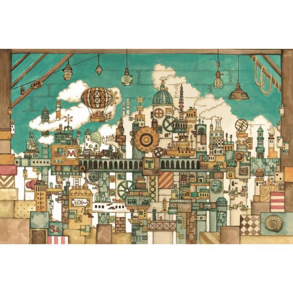 ジグソーパズル EPO-11-594 西村典子 屋根裏部屋のネズミの王国 1000ピース 【あすつく】|jigsawclub