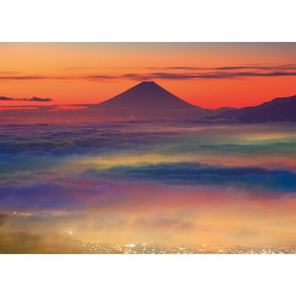 ジグソーパズル EPO-79-326s 風景 雲海の富士山 500ピース