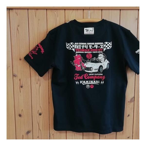 テッドマン×カミナリ半袖Tシャツ2000GT|jiima