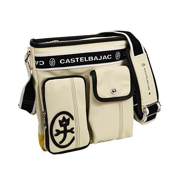 カステルバジャック CASTELBAJAC24112ドミネショルダーバッグ ホワイト