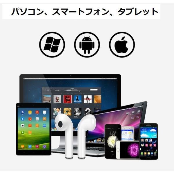 最新型 ワイヤレスイヤホン Bluetooth4.2  ブルートゥース イヤホン  iphoneシリーズ Android 対応 電池容量UP jingyuan