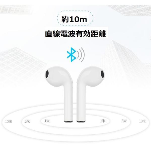 最新型 ワイヤレスイヤホン Bluetooth4.2  ブルートゥース イヤホン  iphoneシリーズ Android 対応 電池容量UP jingyuan 09