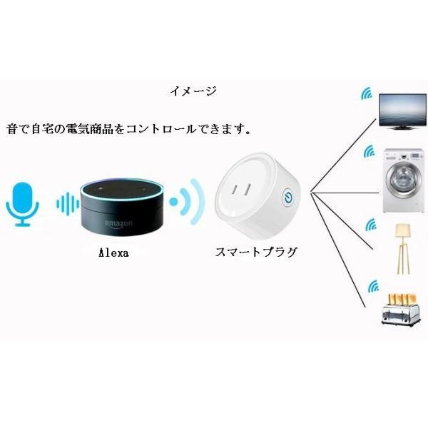 スマートプラグ  Wifi スマートコンセント  Alexa Echo Googleホーム IFTTT対応  スマホ遠隔操作 音声コントロール タイマー スケジュール管理|jingyuan|04