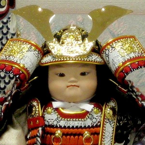 5月人形 子供大将 幸一光 駿平飾り 人気 5月人形 松崎幸一光 端午の節句 たんご 初節句 taisyou-49|jinya-3|02