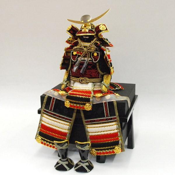 【最短即日出荷可能品】 五月人形 コンパクト 鎧飾り 上杉謙信 五月人形 平安豊久 yoroi60-69 yoroi60-69 jinya-3 04