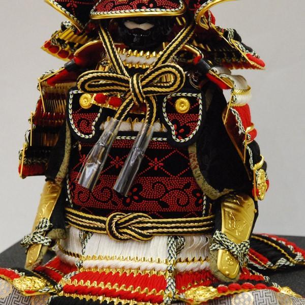 【最短即日出荷可能品】 五月人形 コンパクト 鎧飾り 上杉謙信 五月人形 平安豊久 yoroi60-69 yoroi60-69 jinya-3 05