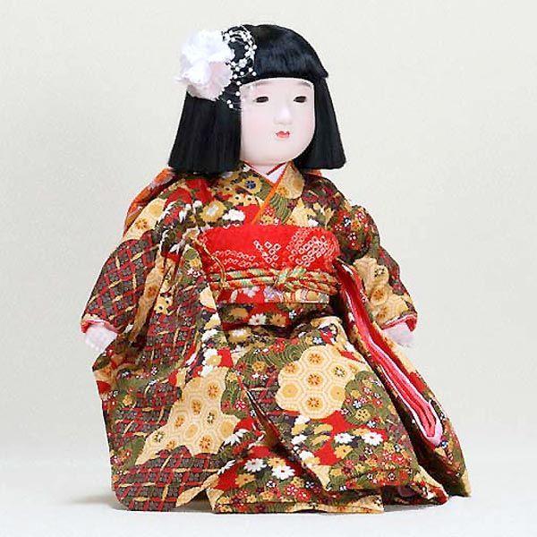 市松人形 抱き人形 13号 いちまつ人形 13号駒e                                                                                                                             抱き人形 市松人形 送料無料 3万以上