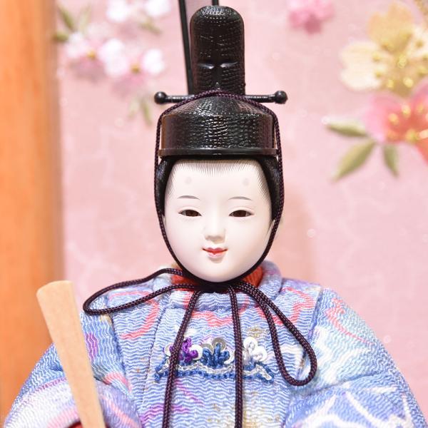 雛人形 久月 木目込み 収納飾り ほのか コンパクト mini 小さい 杉田 ひな人形 初節句飾り お祝|jinya2-hina|05
