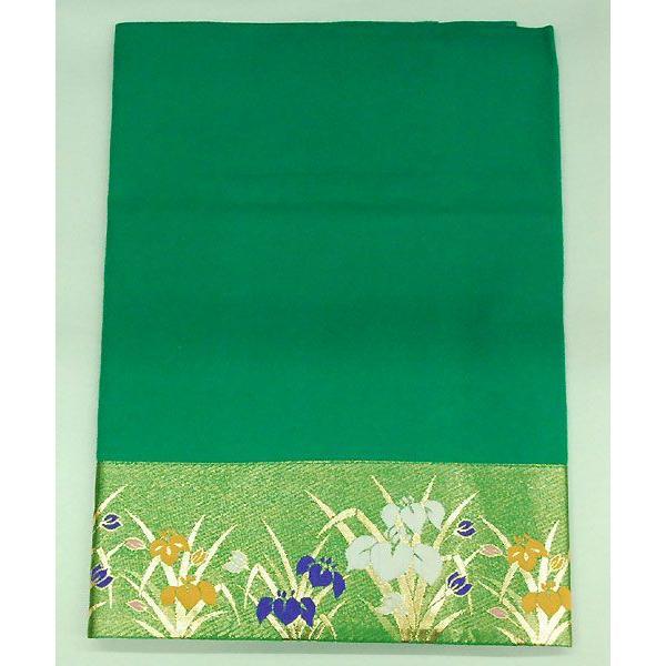 5月人形 緑布 ひな人形 巾140×奥行100cm|jinya2-hina