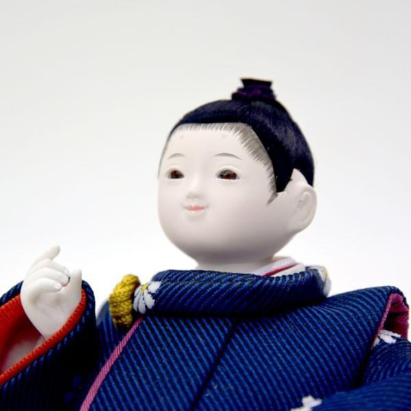五月人形 兜 飾り 鯉のぼり JIN 空 子供大将飾り 童人形 初節句飾り かわいい ミニ コンパクト飾り こいのぼり|jinya|03