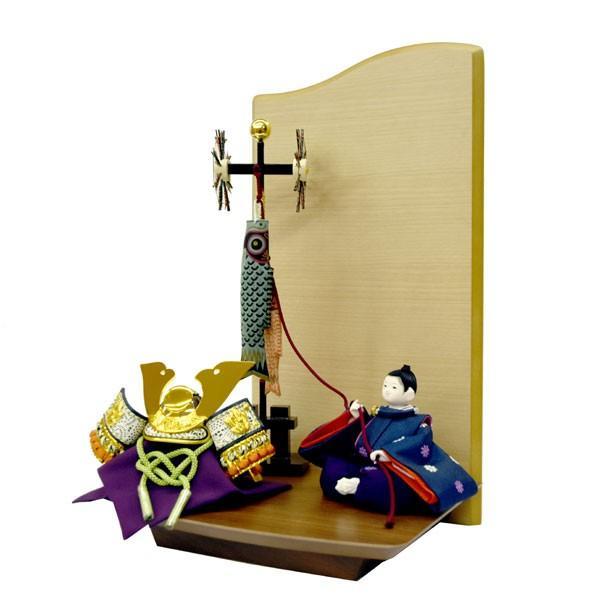 五月人形 兜 飾り 鯉のぼり JIN 空 子供大将飾り 童人形 初節句飾り かわいい ミニ コンパクト飾り こいのぼり|jinya|09
