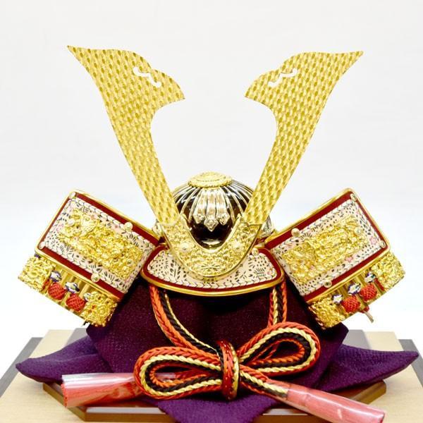 【最短即日出荷可能品】 五月人形 ガラス 兜飾り ケース飾り 5月人形 コンパクトミニ yoroi-49|jinya|04
