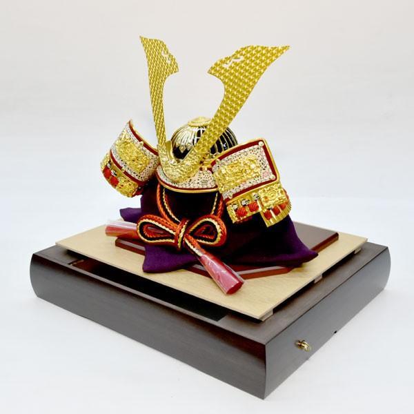 【最短即日出荷可能品】 五月人形 ガラス 兜飾り ケース飾り 5月人形 コンパクトミニ yoroi-49|jinya|06
