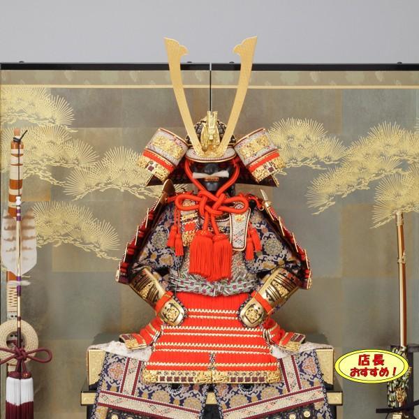 五月人形 鎧飾り 平安一水13号 鎧平飾り 5月人形 京鎧 yoroi90- yoroi90-|jinya|02