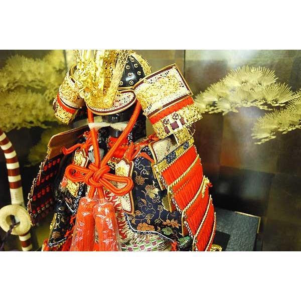 五月人形 鎧飾り 平安一水13号 鎧平飾り 5月人形 京鎧 yoroi90- yoroi90-|jinya|05