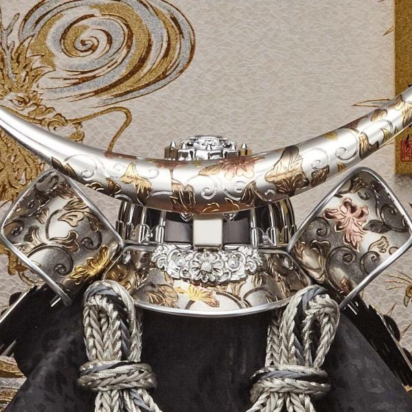 五月人形 兜飾り コンパクト 兜 ケース 伊達政宗 兜飾り 165-744 kabuto-49 5月人形|jinya|03