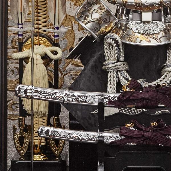 五月人形 兜飾り コンパクト 兜 ケース 伊達政宗 兜飾り 165-744 kabuto-49 5月人形|jinya|06