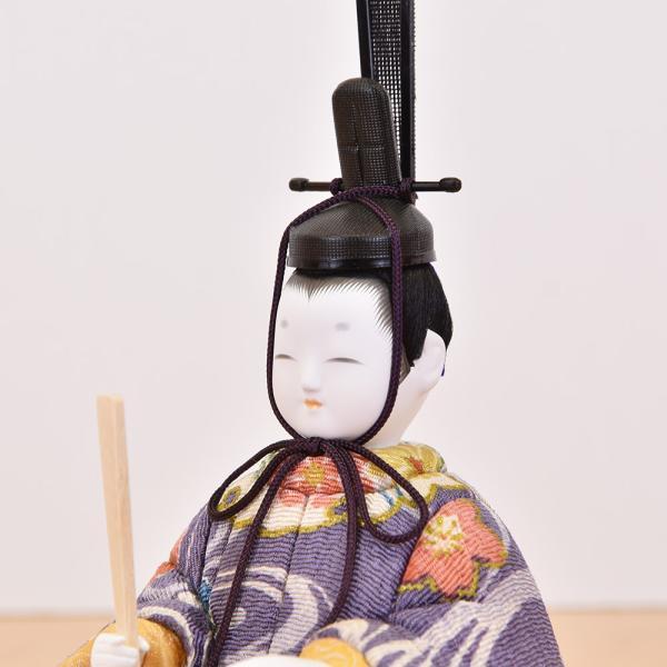 雛人形 コンパクト 木目込み|jinya|04