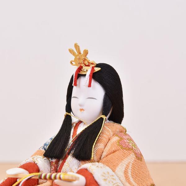 雛人形 コンパクト 木目込み|jinya|05