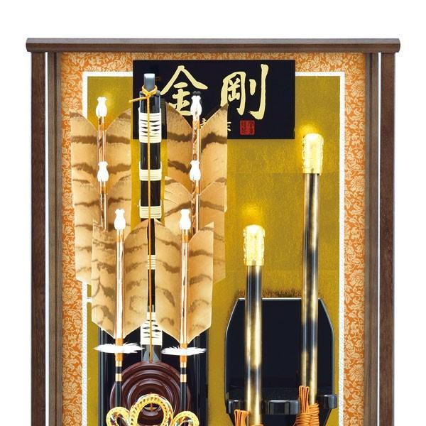 破魔弓飾り 破魔矢 23号 金剛 破魔弓 豪華 大型サイズ  大きいサイズの初正月飾り jinya 02