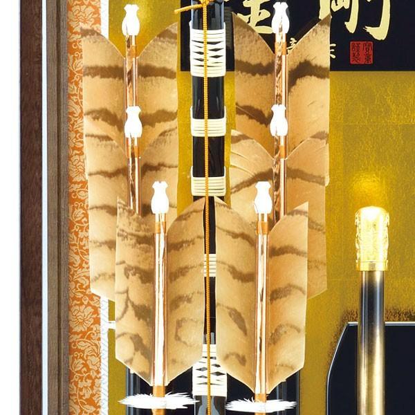 破魔弓飾り 破魔矢 23号 金剛 破魔弓 豪華 大型サイズ  大きいサイズの初正月飾り jinya 04
