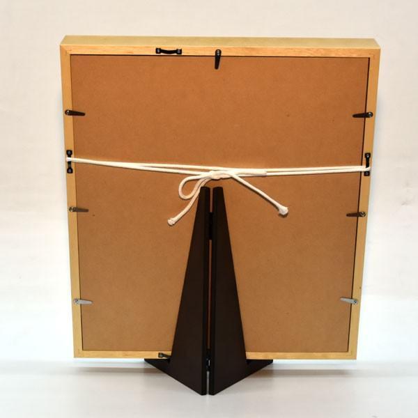 羽子板 久月 壁掛け 羽子板飾り 額入り 初正月 15号 コンパクト ミニ お祝い jinya 06