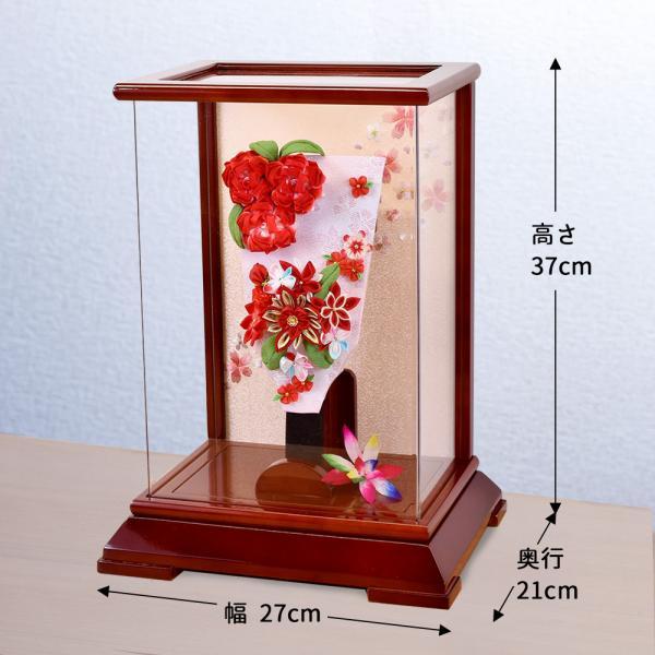 羽子板 コンパクト 10号 羽子板飾り 初正月 おしゃれ ミニ mini お祝い品 手作り jinya 02