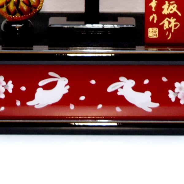 羽子板飾り コンパクト おしゃれ 初正月飾り ケース入り 10号 a2matu19-3|jinya|07