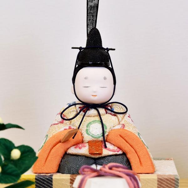 雛人形 木目込み ケース飾り かわいい 幸一光 ひな人形 コンパクト ミニ jinya 06