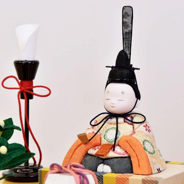 雛人形 木目込み ケース飾り かわいい 幸一光 ひな人形 コンパクト ミニ jinya 08